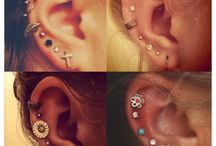 Piercings and jewellery