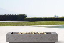 Farmhouse outdoor space