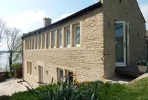 Case Study: Hollingworth Lake / This grade 2, listed conservation project based at Hollingworth Lake in Rochdale looks a dream with it's stunning timber windows, timber doors and timber bespoke joinery