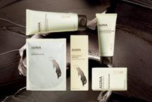 Dead Sea Mud - AHAVA - Body Care / The mineral-rich black mud on the Dead Sea shores is scientifically proven to soothe and repair dry, sensitive skin.