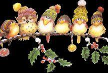 Πουλιά Χειμώνας Νηπιαγωγείο