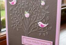 Trees n birds cards