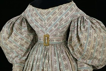 Regency and Romantic Gowns (1800-1839)