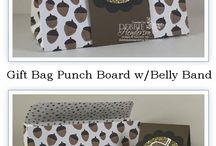 Gift Bag Punch Board