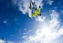 Snowborading / Snowboarding is my sports passion. I thirst for the rush of the hill an to see every bail but more important the look on a rider who's accomplished what they have put everything into / by Emma Miller