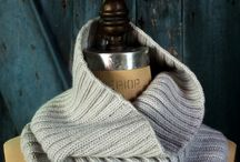 knit and crochet- scarves and cowls