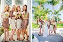 Bridesmaids / All things to with Bridesmaids. Dresses, accessories, hair, shoes and gifts