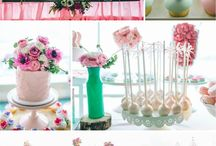 Dessert Tables - Father/Daughter Dance / Inspiration Board for Father-Daughter Dance - March 1, 2014 St Anthony School / by HOME SHOPPE HAWAII - Oahu Real Estate Services