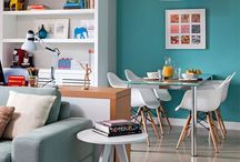 Living and dinning rooms / Beautiful spaces that I'd like to spend time in. Living rooms and dining rooms that inspire me.