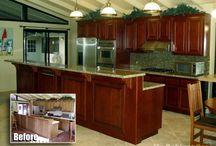 Orange - Kitchen Remodeling / Inspirational Kitchen Designs By Mr Cabinet Care