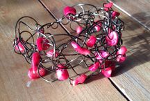 Jewellery Inspiration - Red Coral Chips / All about inspiring uses of coral chips