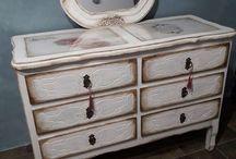 Muebles reciclados mis creaciones