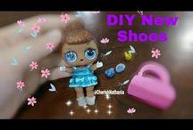 Cara Membuat DIY LOL Surprise Dolls Shoes, Costume, Clothes, Accesories etc. / Yuk buat sendiri aneka pernik cantik LOL Surprise  ☺