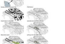 Architecture - Schemes / Analyses / Collection of different approches to analyses a particulier landscape or building.