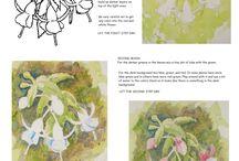 Virág festmény lépésről lépésre