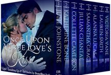 Once Upon a True Love's Kiss Anthology / USA Today Best-selling author, Julie Johnstone, joins best-selling, award-winning authors, Katherine Bone/Collette Cameron/Jillian Chantal/Samantha Grace/Alanna Lucas/Lauren Smith & Victoria Vane in this delightful limited edition, containing 8 tantalizing kiss-and-tell stories. Meet dashing, wildly charming rogues, spies, pirates, rakes & their extraordinary, intrepid heroines as they whisk you along on sweet to sizzling romantic romps in these wickedly entertaining historical romances.