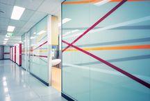 designer glass partition