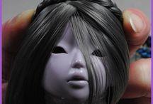 Волосы куклам