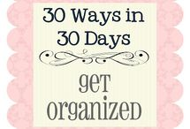 Organize better / by Heidi Schmidt