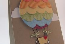 Hot Air balloon cards