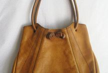 Vintage bags and purse