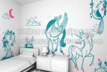 Vinilos Decorativos Infantiles / by Vinilos Decorativos MX Mexico Decoracion de interiores con vinil decorativo