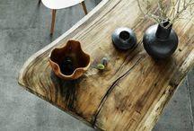 Trends, tables made of wood / Из натурального дерева в прямом смысле этого слова. Массив дерева, без сомнения, является одним из самых разносторонних материалов. Отделки, формы и стили для которых подойдет дерево – бесконечно. Несмотря на новые  изобретения и разработки в дизайне, ничто не сможет заменить ни тепло ни текстуру деревянного изделия…