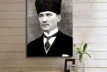 Atatürk Kanvas Tabloları