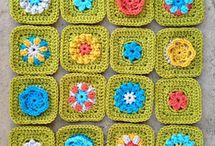100s of Granny squares / Granny Squares