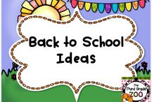 Back to School / This board contains lesson ideas and resources for all of your back to school planning needs.