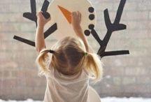basteln weihnachten mit kindern