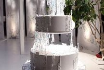 Chandelier wedding cakes