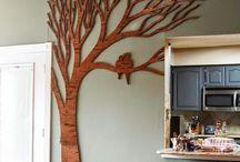 Wall treat art