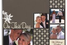 wedding scrap pages / by Janice Doucet