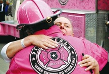 The Pink Heals Tour  / These men honor those who can no longer fight or stand with those who can fight and inspire those who watch. This mission is about firemen and other emergency personnel Supporting Women in the fight against cancer. Guardians of the pink ribbon. / by Jessica Hodges