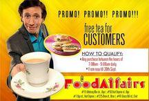 Food Affairs Offers Free Tea To Customers