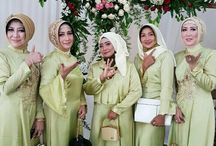 bridesmaid moslem