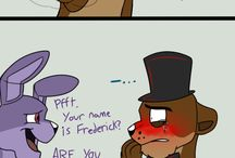 five night at freddys and stuff