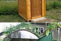 toaleta in afara casei