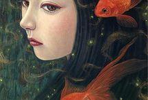 Ψάρια κοκκινα