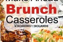 Make Ahead Brunch Casseroles