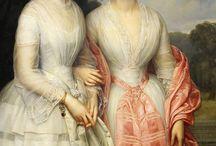 XIX century portraits