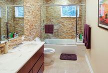 Leibowitz - Bathroom Overhaul / Incredible bathroom before/after to get you in an inspired mood. #OZGC #ACompanyYouCanTrust