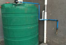 Rainwater harvesting / Installed rainwater  harvesting systems and components by Use-rainwater.com in South Africa