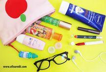 travel beauty items