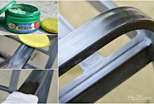 How to polish garden furniture