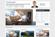 Real Estate Web Design / Real estate agent websites developed to show off listings and close more sales.