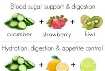 Healthy stuff / Smoothies, Detox water, infused water