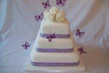 Wedding cakes (mine)