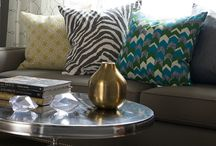 Power of the Pillow! / Room styling with throw pillows